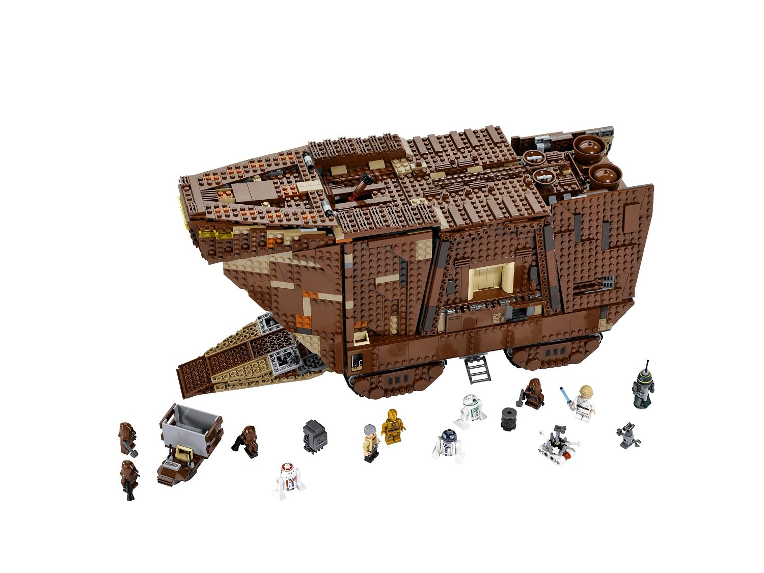 Lego Sand Crawler Photo