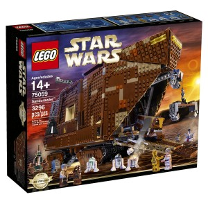 Lego Sand Crawler