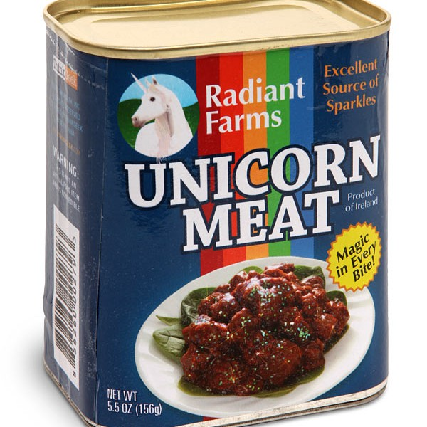 Unicorn in a can - who would have thought?