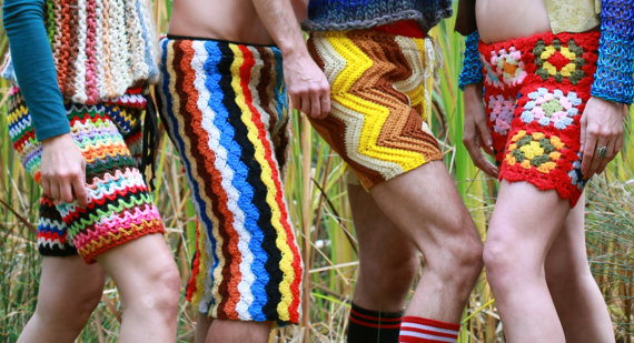crochet fashion shorts
