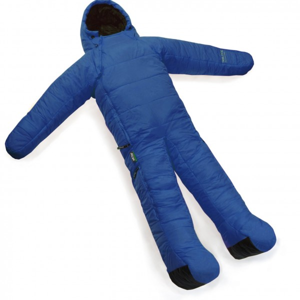 In Soviet Russia - sleeping bag wears you!