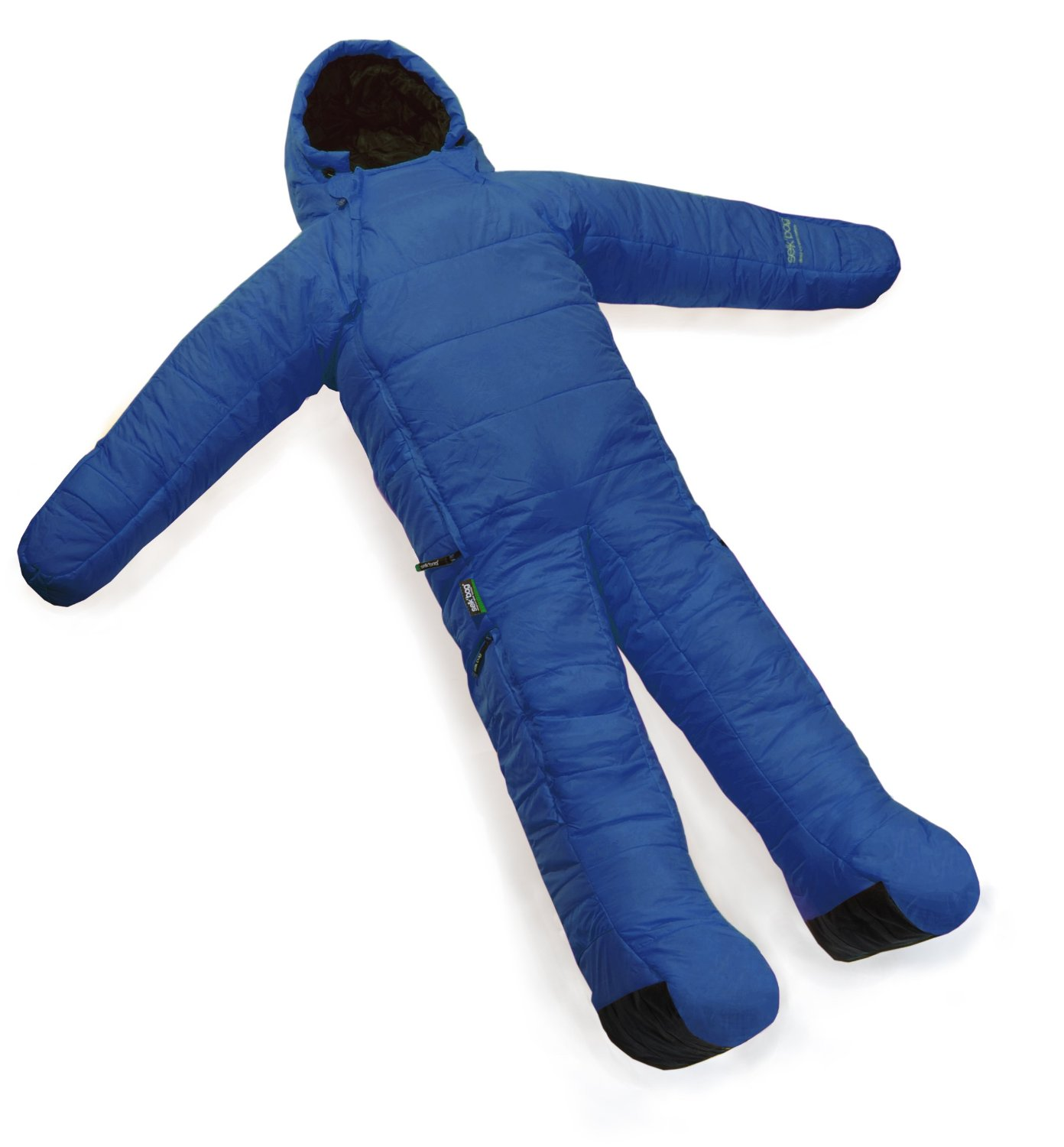 In Soviet Russia - sleeping bag wears you!