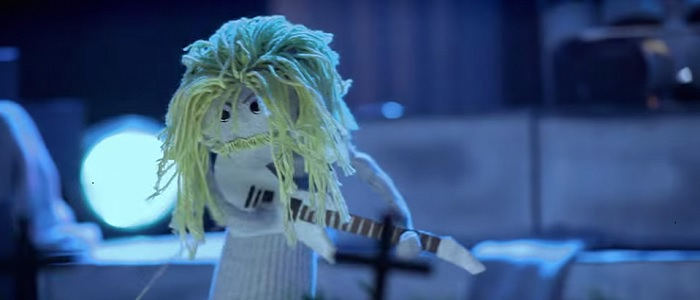 sock puppet parody music video metallica
