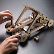 Build Yourself Wooden Catapult Kit